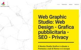 Creazione Siti Web WordPress Siti Web E-Commerce Grafica Pubblicitaria | Web Graphic Studio Pomezia (Roma)