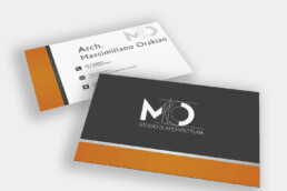 Arch. Massimiliano Orakian - Business Card
