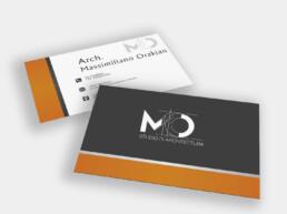 Arch. Massimiliano Orakian - Business Card